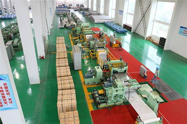 Width 400-1250 mm steel Slitting machine/ Coil Cutting Machine in Foshan