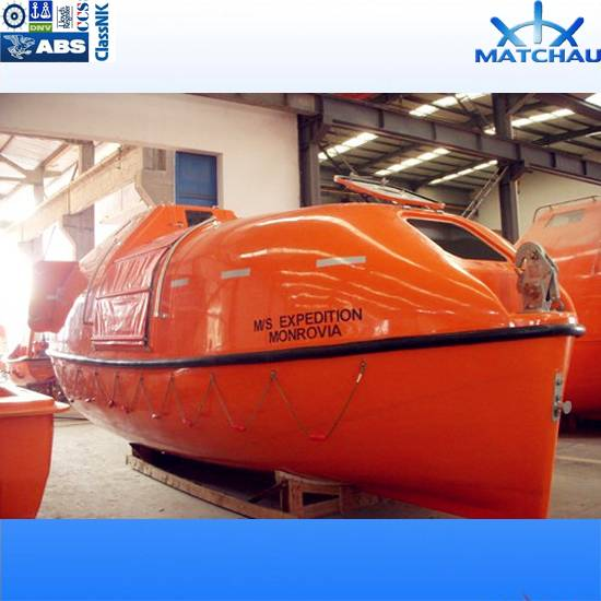 8.0m 71 Persons Partially Enclosed Lifeboat/Rescue Boat