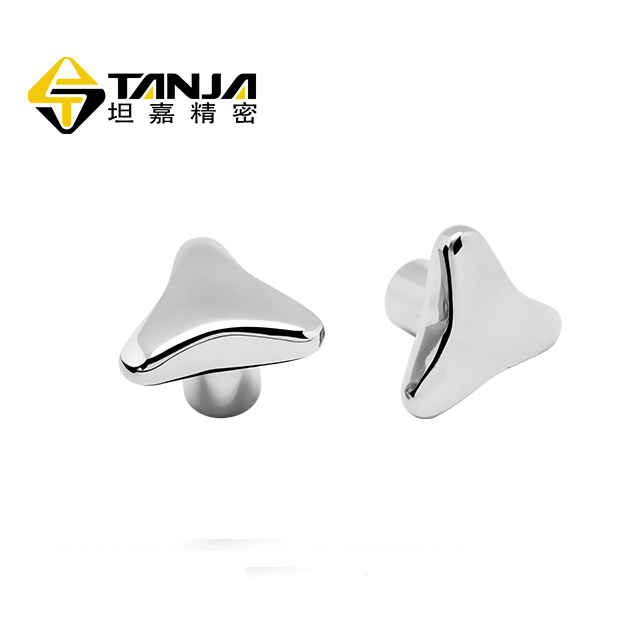 TANJA T52 New Design High Quality Triangle star Stainless Steel Nut lock knob for Chemical equipment
