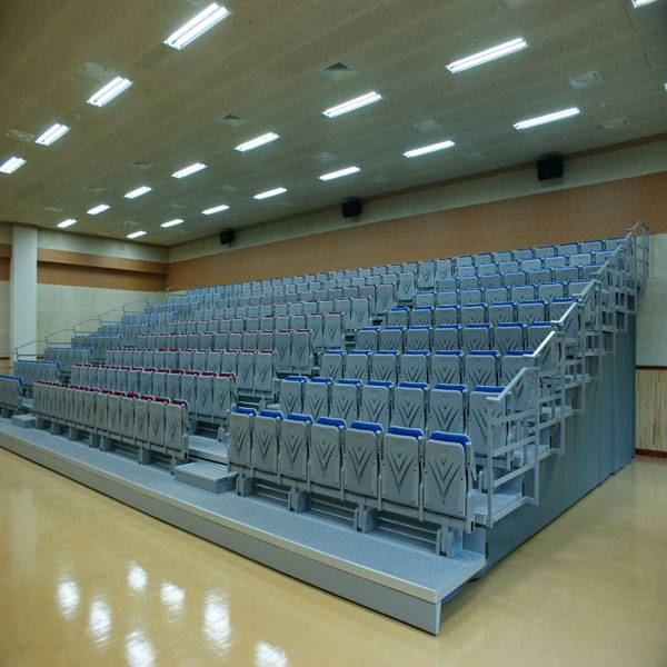 Indoor stadium automatic telescopic movable grandstand