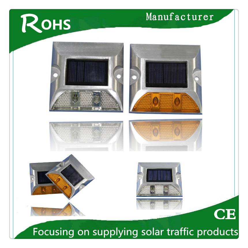 Solar road stud/solar road spike with Alluminium materials
