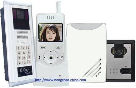wireless video building intercom system