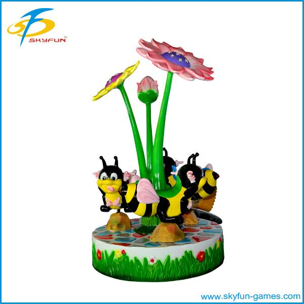 Electronic coin operated kiddy machine