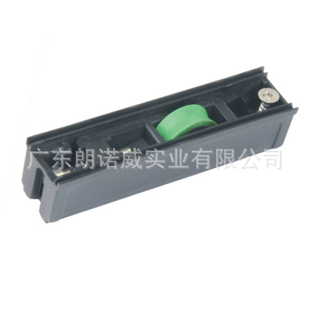 Offer slide roller with door and window