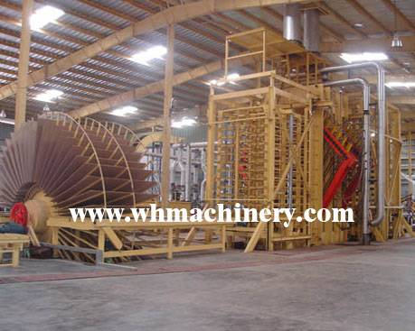 chipboard plant / particle board production line