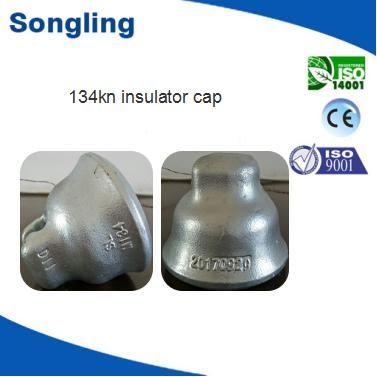 134KN Ductile iron insulator cap