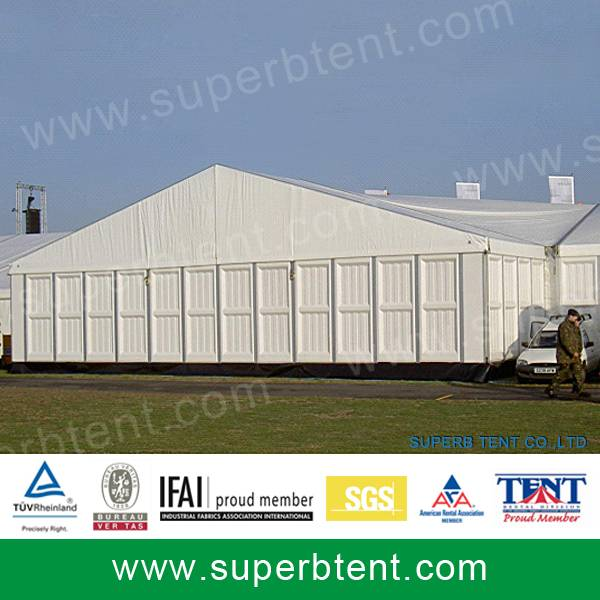ABS hard wall tent for storage warehouse