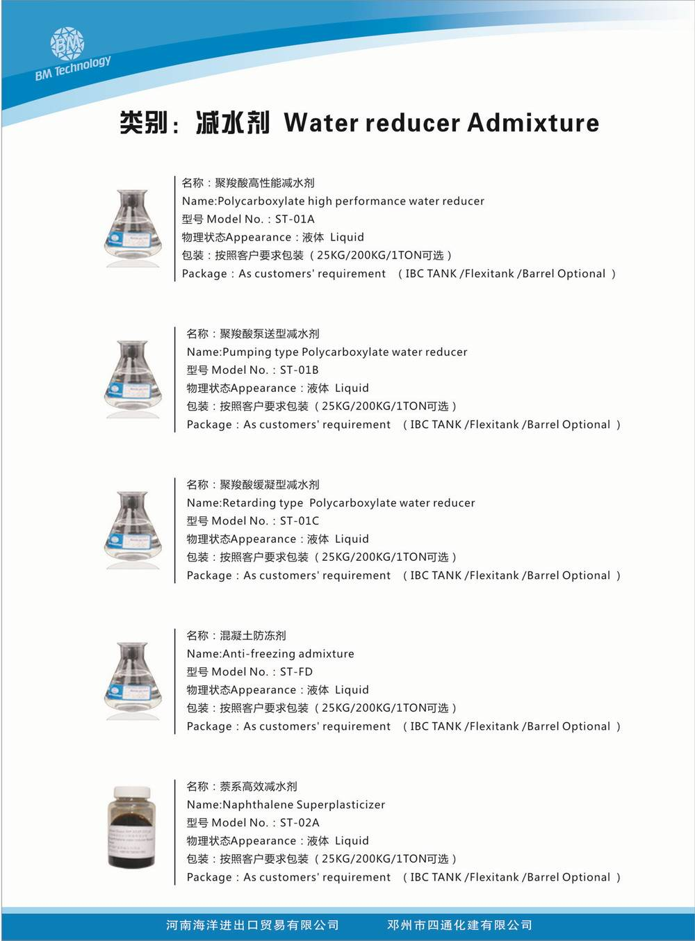 Concrete Admixtures Manufacturers Supply