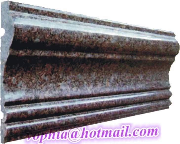 ornamental mouldings made of granite,marble, travetine, onyx
