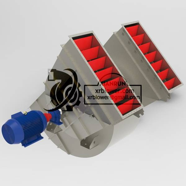 High Capacity Double Suction Fans for Cement Plant