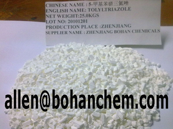 Tolyltriazole Purity 99.5min Granule /Power Tolyltriazole in Cooling Water Systems