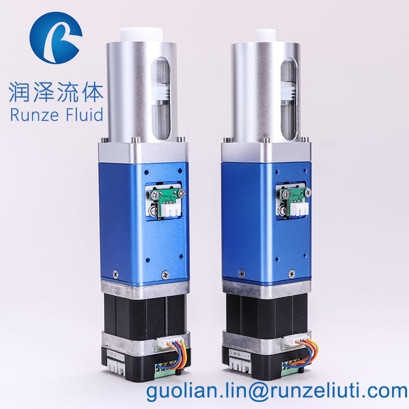fluid shift syringe pump injection pump