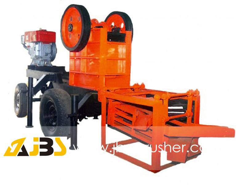 small mobile crusher model PE250*400