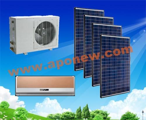 100% 48V/24V Solar powered air conditioners