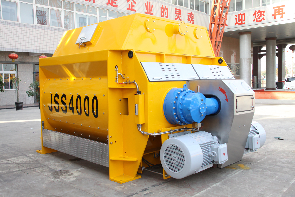 JS4000 Concrete Mixer With Patented Certificate
