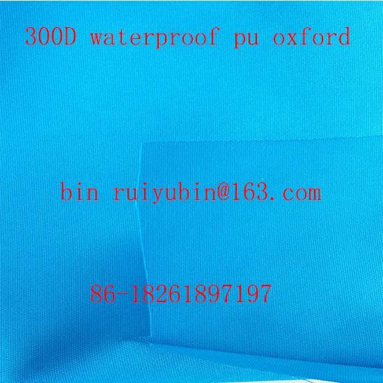 320d oxford fabric pu coated fabric bag luggage
