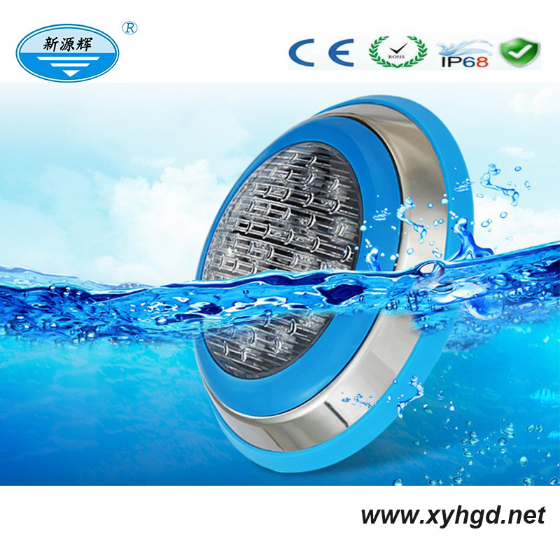 Pool equipments IP68 ABS plastic 12V wall mounted led swimming pool lights