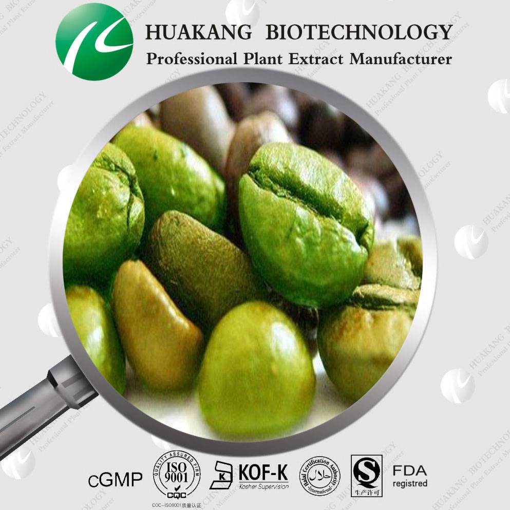 Supply Natural Green Coffee Bean Extract