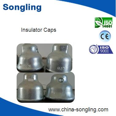 High quality zinc sleeve steel cap for suspended glass insulator