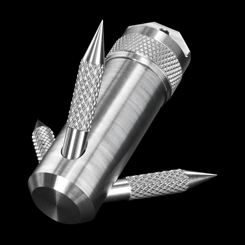 Titanium Waterproof Multi Function Pill Box Container Capsule Survival Outdoor Gear Grappling Hook