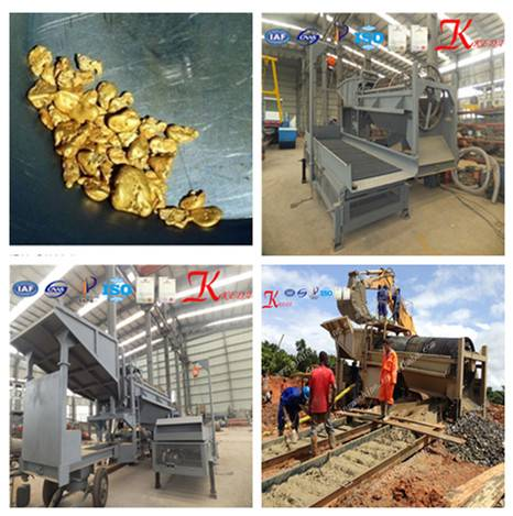 Alluvial Gold Machine/Production Line