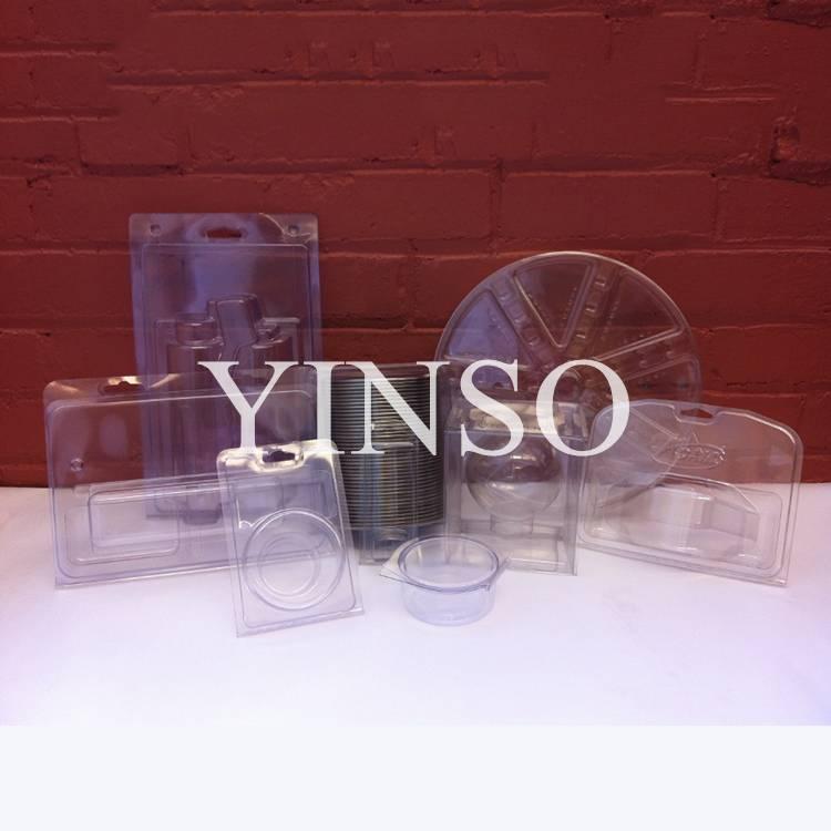 Customized Design Battery Blister Packing PVC,PET Plastic blister Packing Box