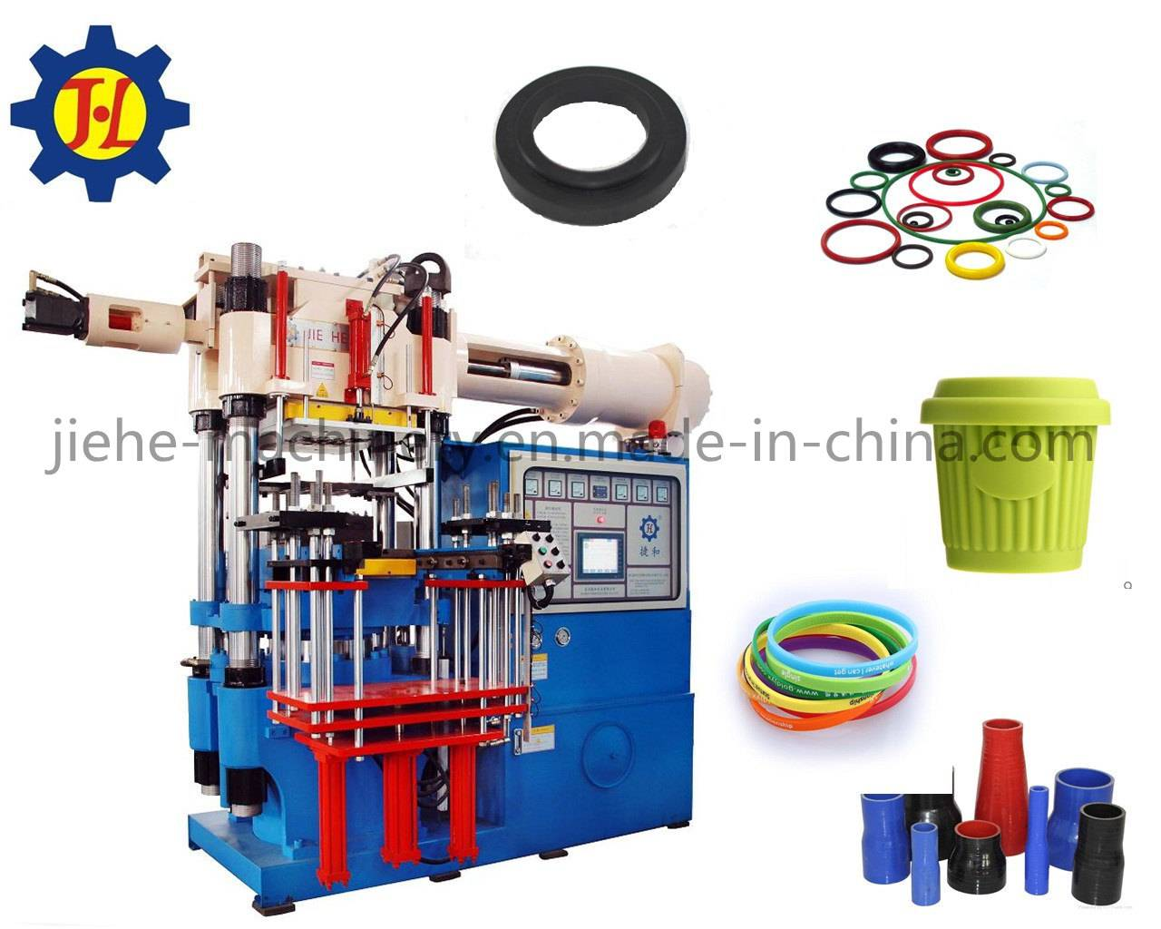 horizontal rubber auto parts injection molding machine