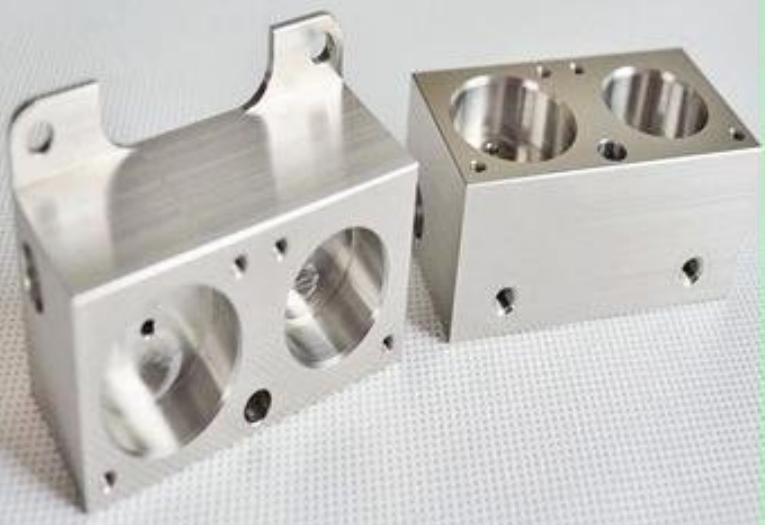 CNC machining part aluminum 7075 anodized part CNC machined part