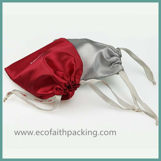 satin jewelry pouch bag