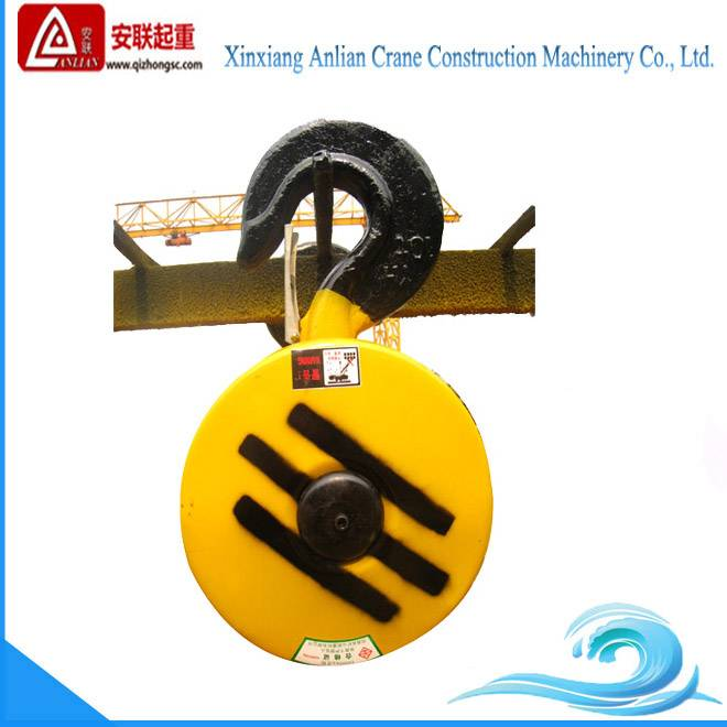 Big capacity wire rope electric hoist hook 50T, lifting crane hook