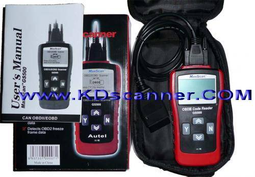 GS500 CAN OBD-II EOBD Code Scanner  can bus x431