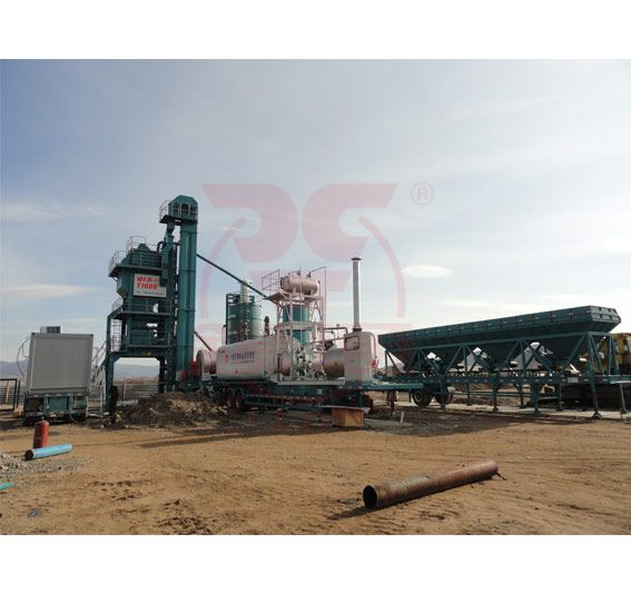 Movable Asphalt Mixing Equipment
