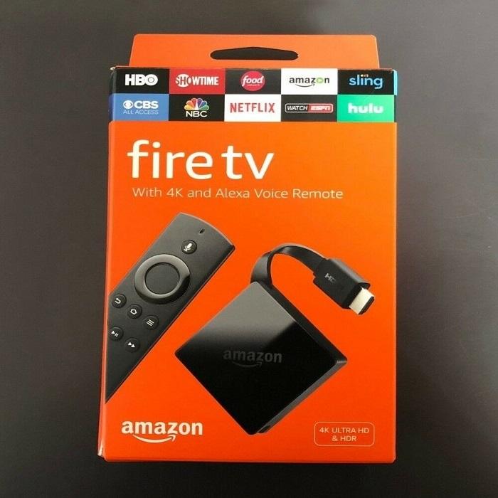 Amazon TV Fire Stick 4K Ultra HD with Alexa Voice Remote (3rd Gen)