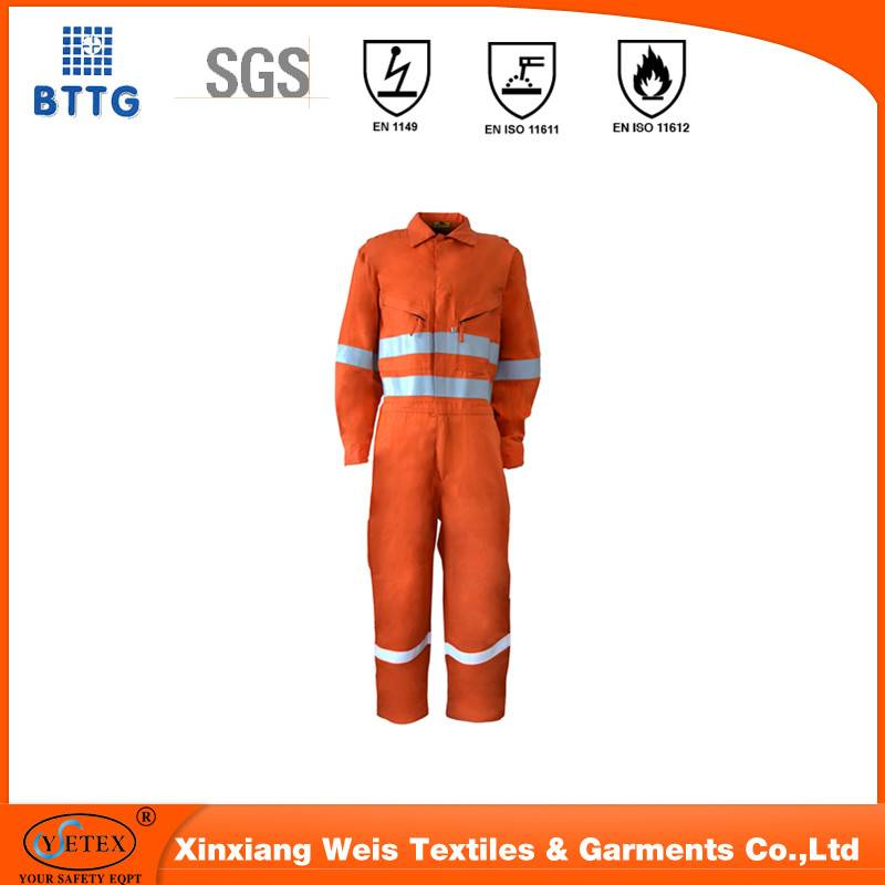 flame retardant garments for fireman uniform