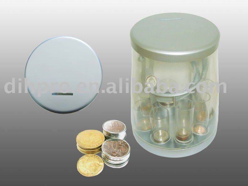 Distinguish coin box