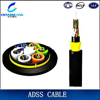 China Manufacturer ADSS Single Mode Multi Core Aerial Fiber Optic Cable Price Per Meter