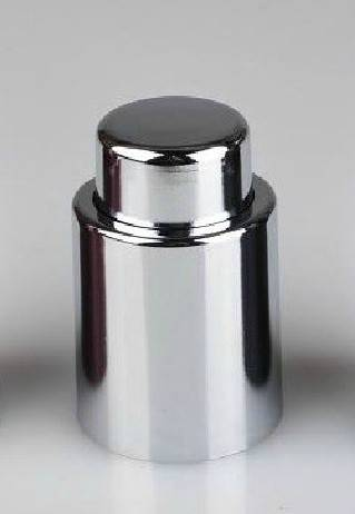 Stainless Steel Color Professional Push Type Integrally Vacuum Wine Stopper