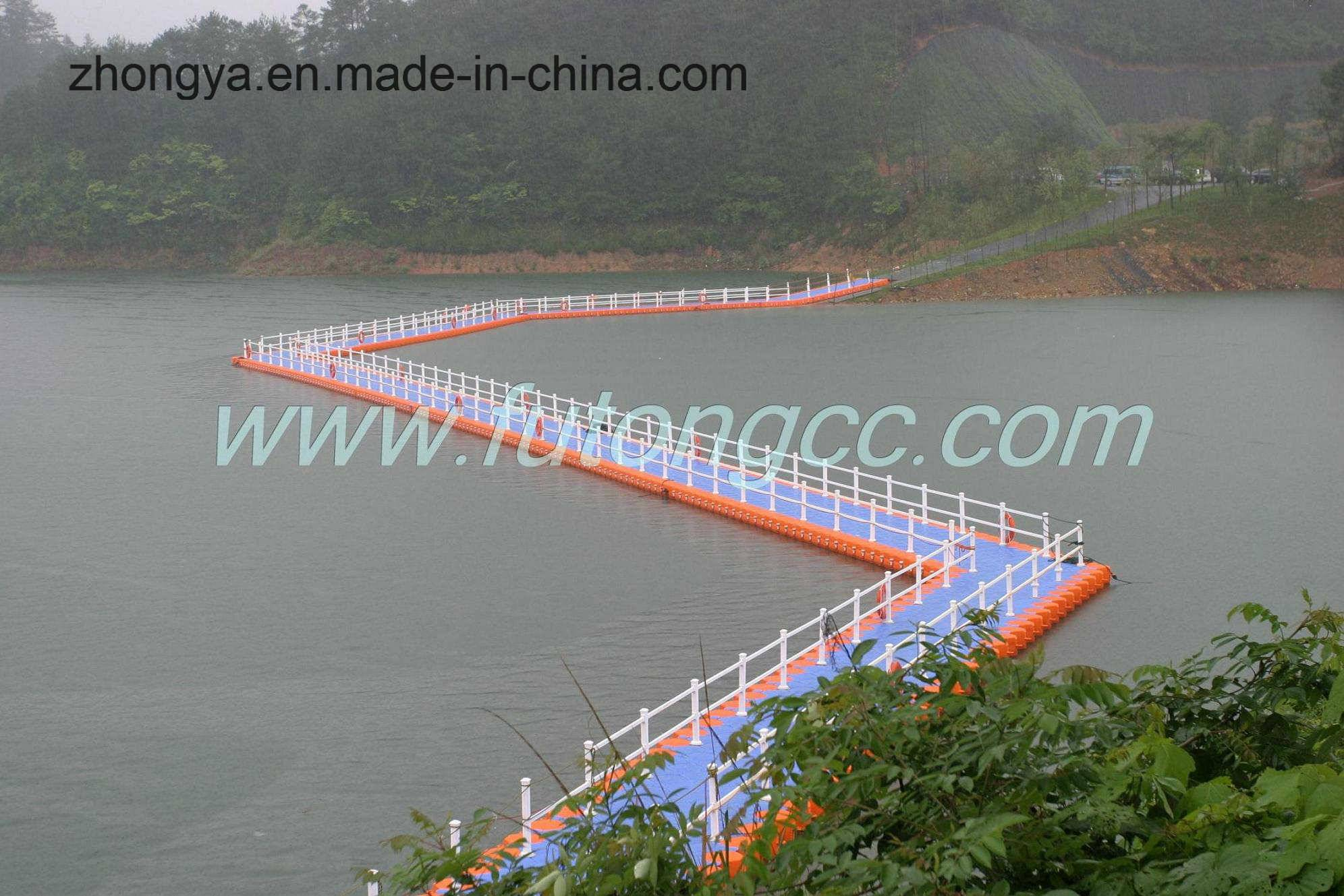 Famous Brand of Floating Pontoon Bridge