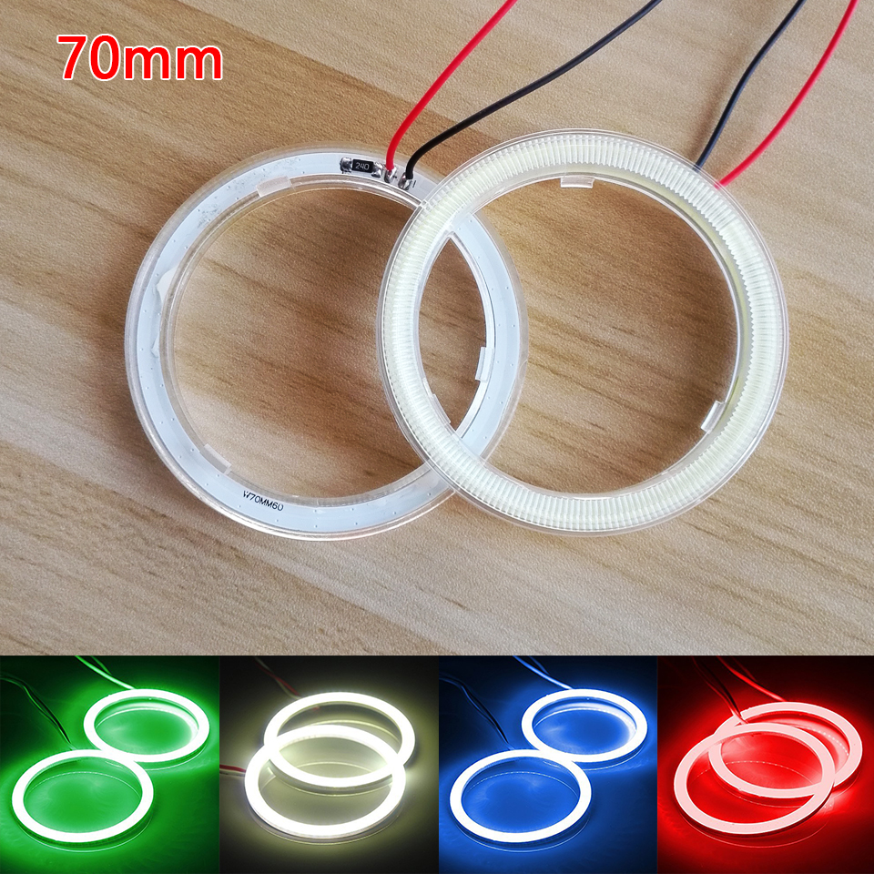 70mm Wholesale Halo Rings LED Angel Eyes DRL
