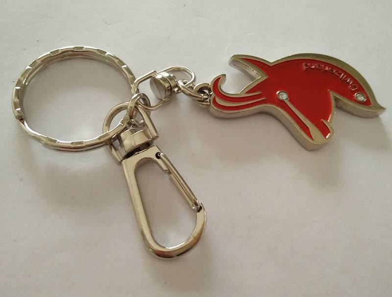 Factory custom Bottle opener Keychain