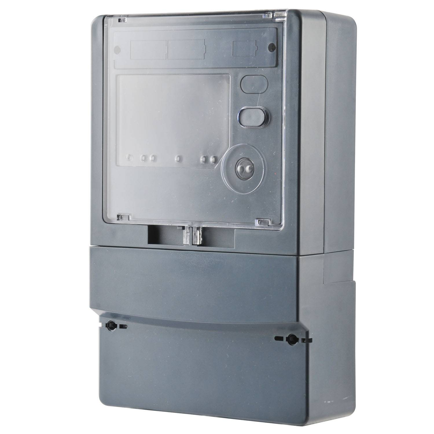 Three Phase Electric Meter Enclosure with Polycarbonate Low consumption