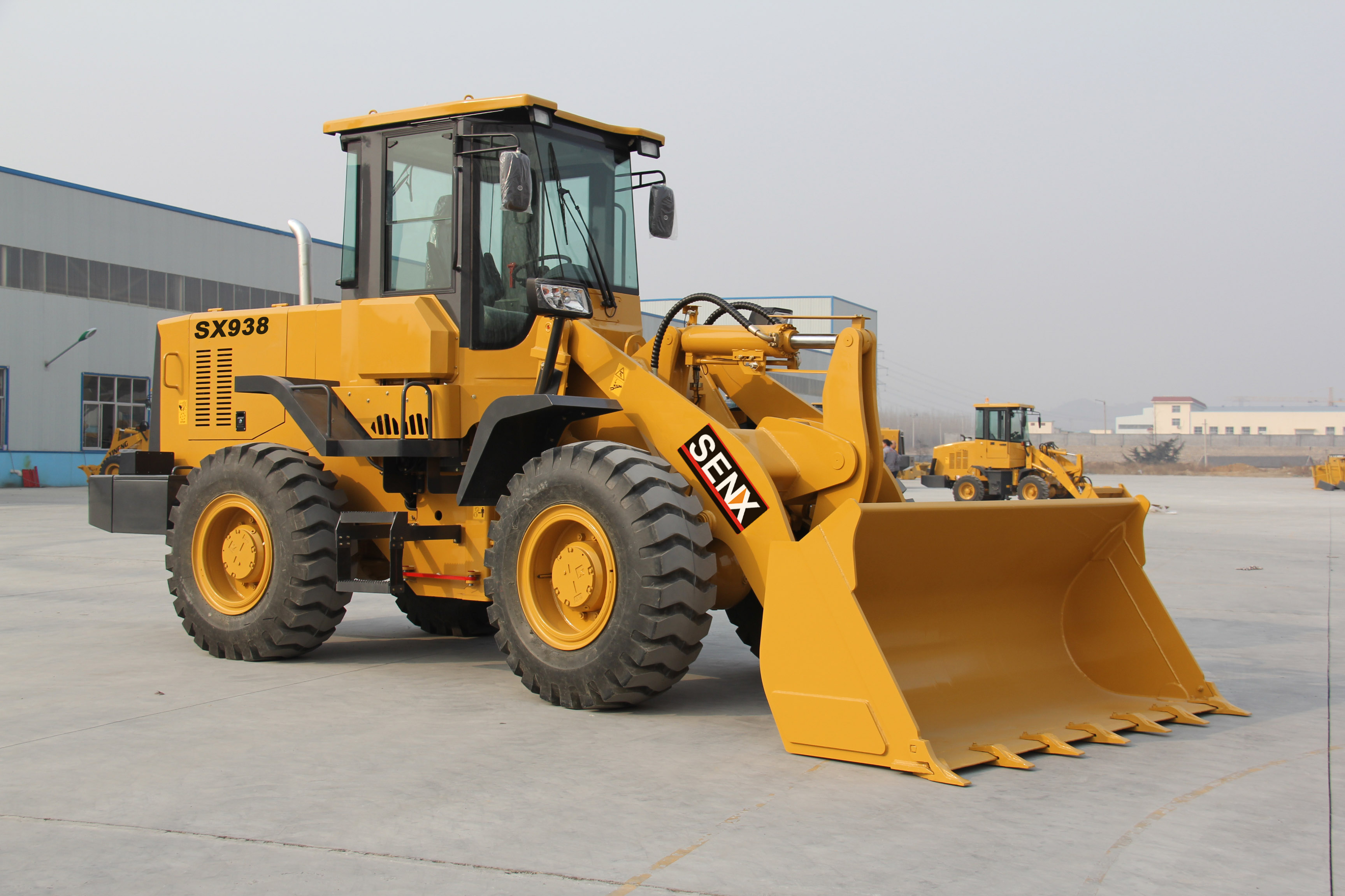 China cheap wheel loader 3T loader SX938 for sale