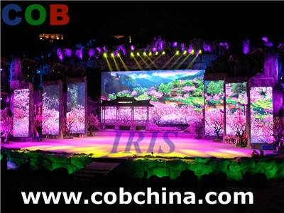 high quality p5 rental led screen for sound concert