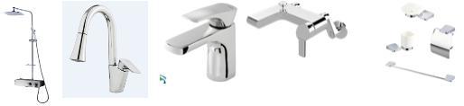 Faucet, Shower Bar