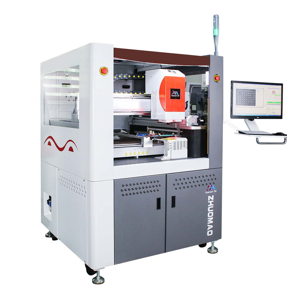 World only one Fully Automatic BGA Rework System ZM-R8650 laptop motherboard repair machine