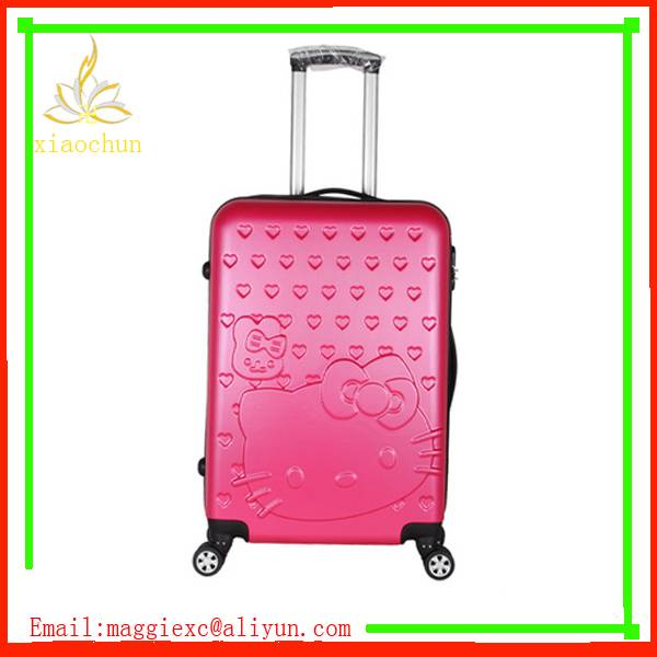 High Quality Trendy ABS PC Travel Trolley Luggage