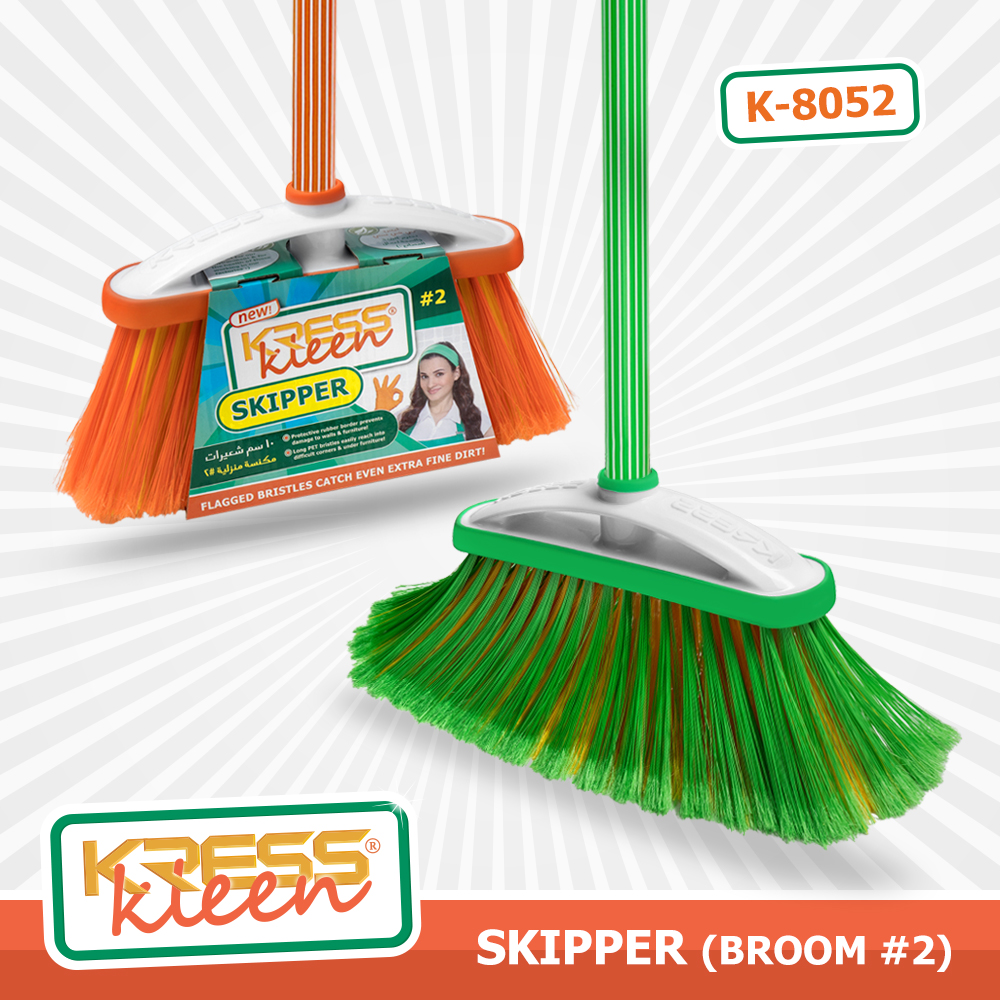 KRESS Kleen® SKIPPER (Indoor broom #2)