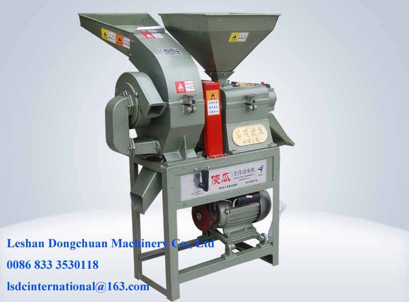 Multi-fuction rice mill and crusher machine NFL6.01-23QICZ
