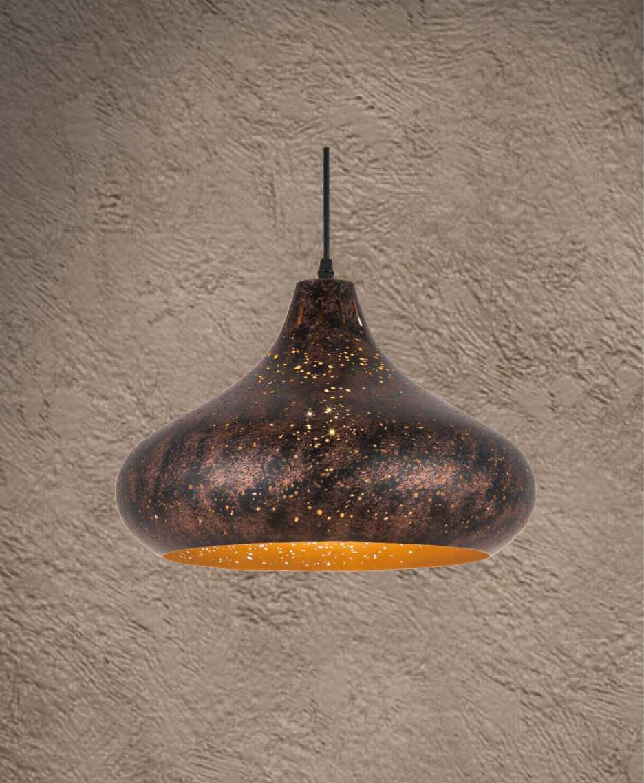 XV-08 corrosion pendant light