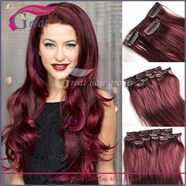 Greathairgroup Clip in hair extension